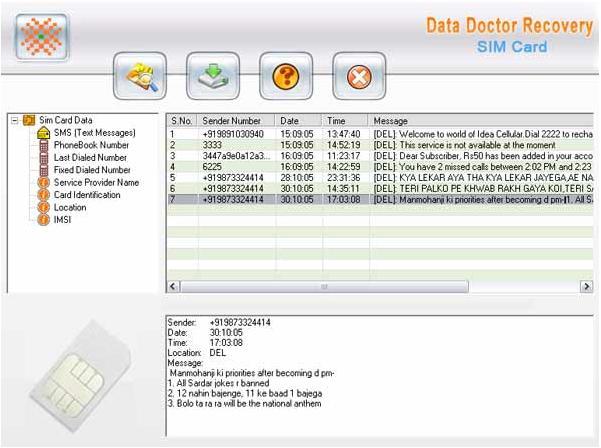 Blocked SIM Card Data Recovery