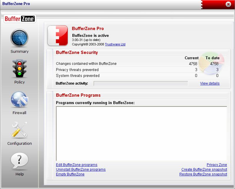 BufferZone Pro 3.31-46
