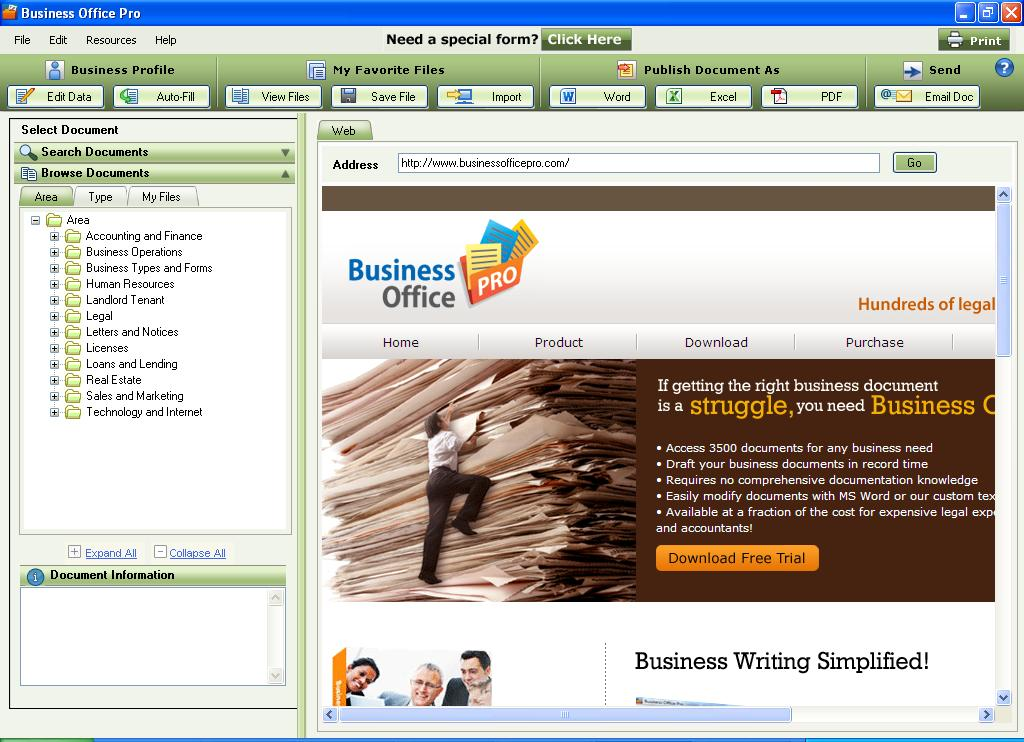 Businessofficepro Legal Forms and Templates