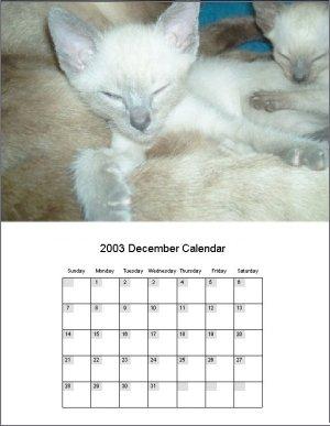 Calendar Builder Program