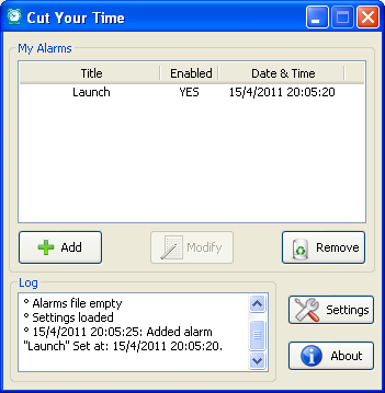Cut your time