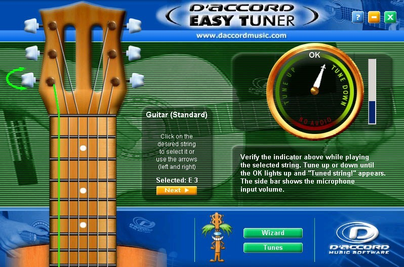 D'Accord Easy Tuner