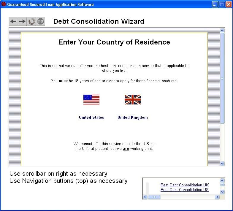 Debt Consolidation Software
