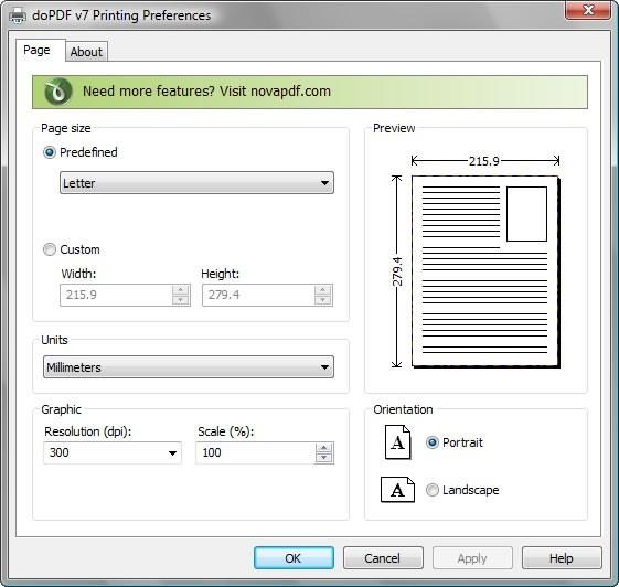 doPDF free PDF creator