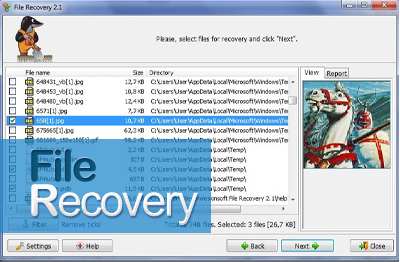 easy recover deleted data