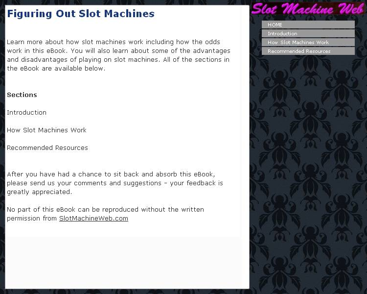 Figuring Out Slot Machines