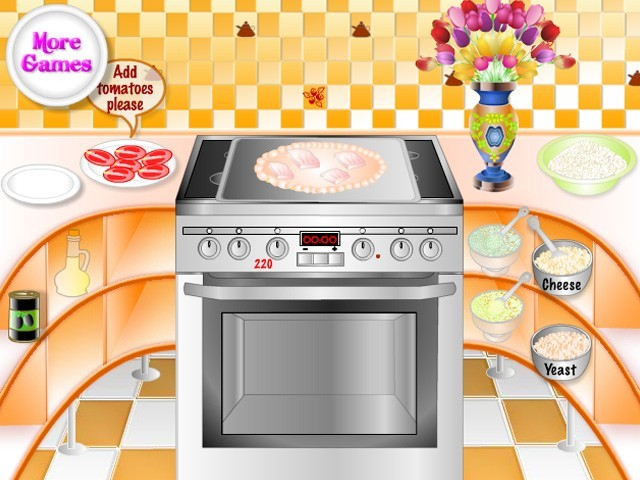 Fish Pizza Cooking