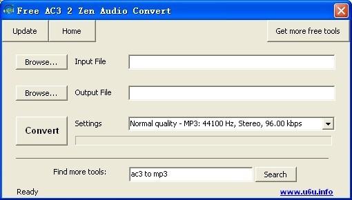 Free AC3 2 Zen Audio Convert