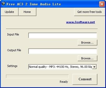 Free AC3 2 Zune Audio Lite
