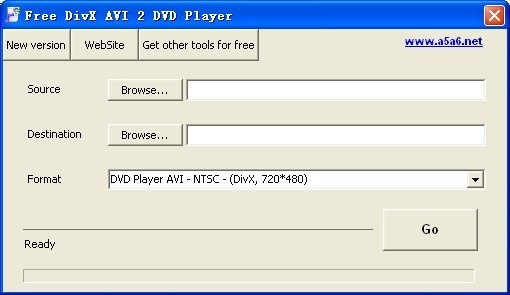 Free DivX AVI 2 DVD Player