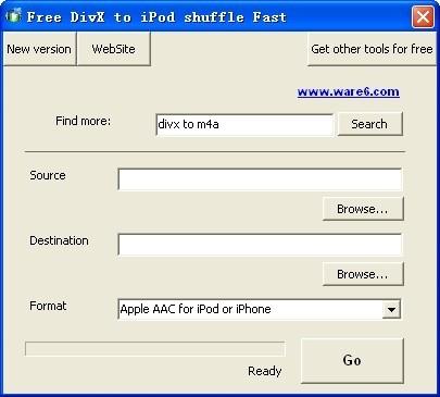 Free DivX to iPod shuffle Fast