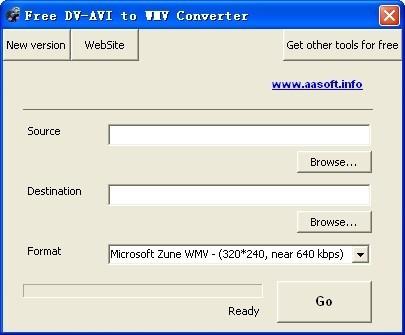 Free DV-AVI to WMV Converter