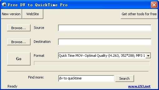 Free DV to QuickTime Pro