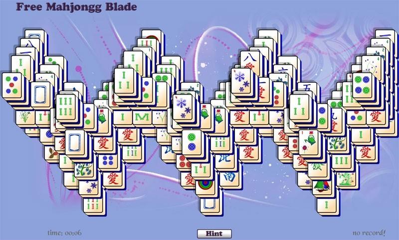 Free Mahjongg Blade