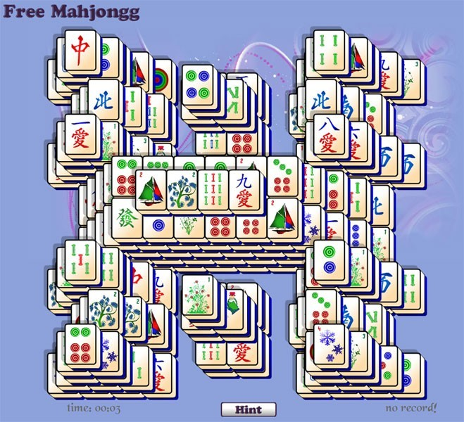 Free Mahjongg H