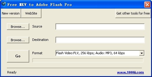 Free MKV to Adobe Flash Pro