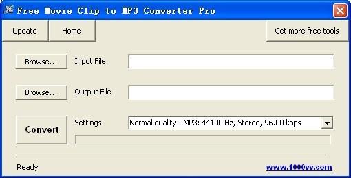Free Movie Clip to MP3 Converter Pro