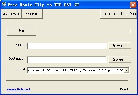 Free Movie Clip to VCD DAT SE
