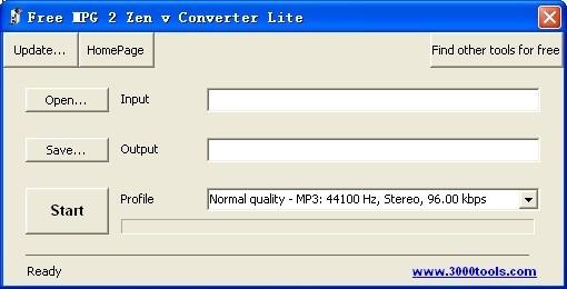 Free MPG 2 Zen v Converter Lite