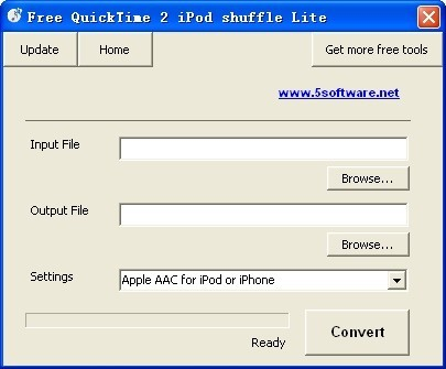 Free QuickTime 2 iPod shuffle Lite