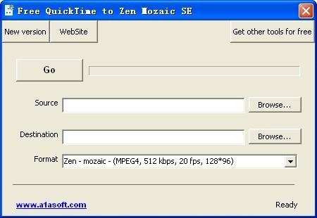 Free QuickTime to Zen Mozaic SE