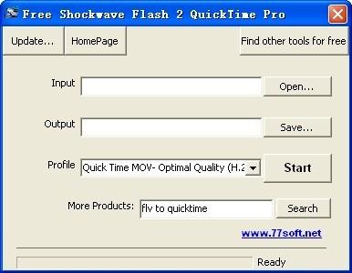 Free Shockwave Flash 2 QuickTime Pro