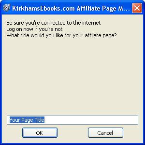 Free Software Affiliate Pag