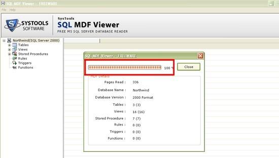 Free SQL MDF Viewer