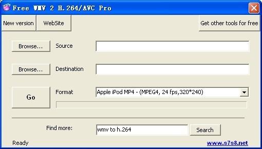 Free WMV 2 H.264/AVC Pro