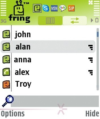 fring for Symbian