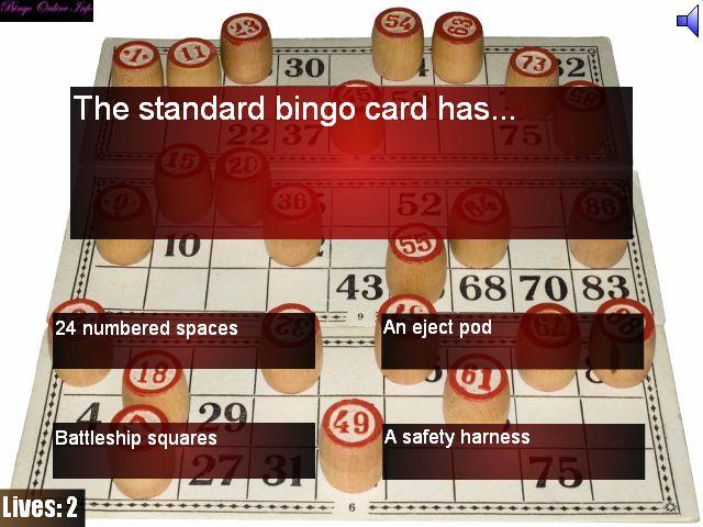 How To Play Standard Bingo Quiz