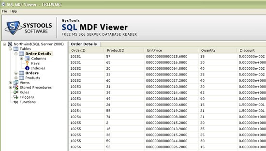 How to View a SQL Database