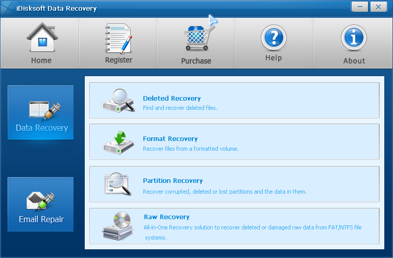 iDisksoft File Recovery