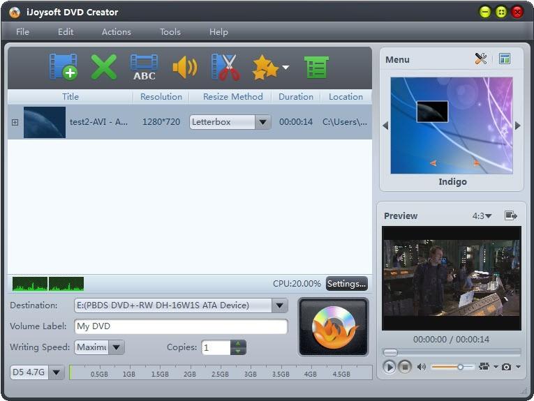 iJoysoft DVD Creator