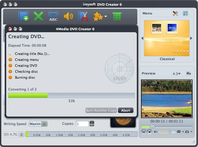 iJoysoft DVD Creator for Mac