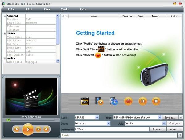 iMacsoft PSP Video Converter