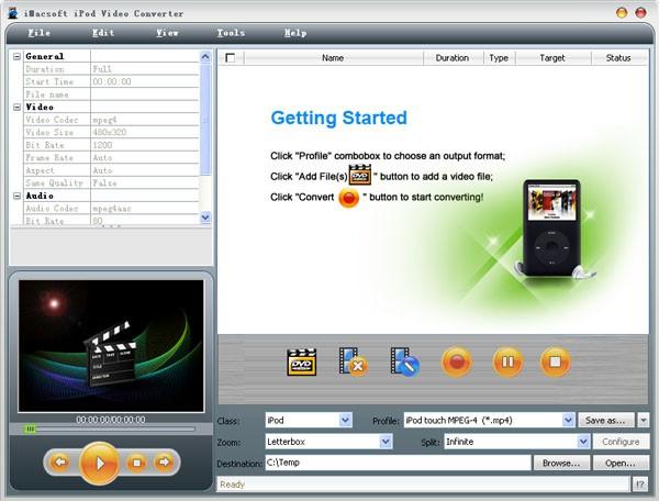 iMacsoft iPod Video Converter