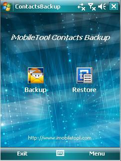 iMobileTool Contacts Backup