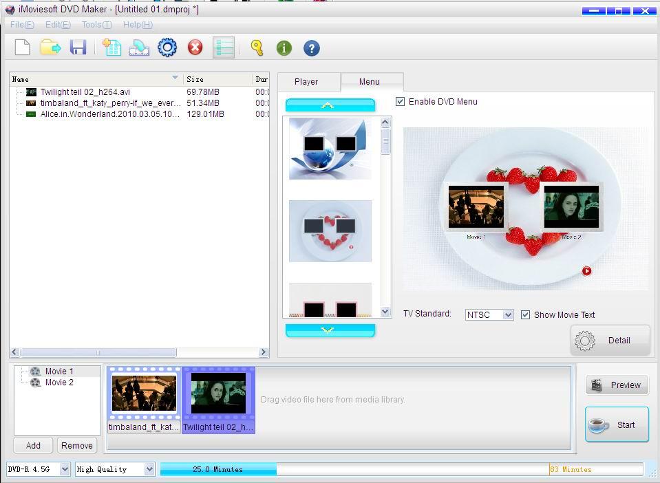 iMoviesoft DVD Maker