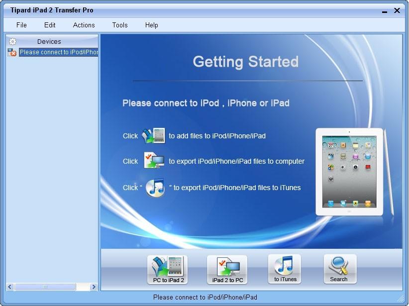 iPad 2 Transfer Pro
