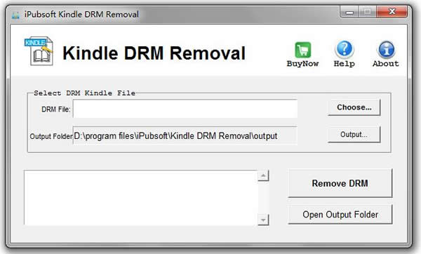 iPubsoft Kindle DRM Removal