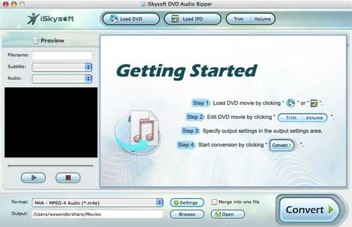 iSkysoft DVD Audio Ripper for Mac