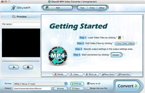 MP4 Video Converter for Mac