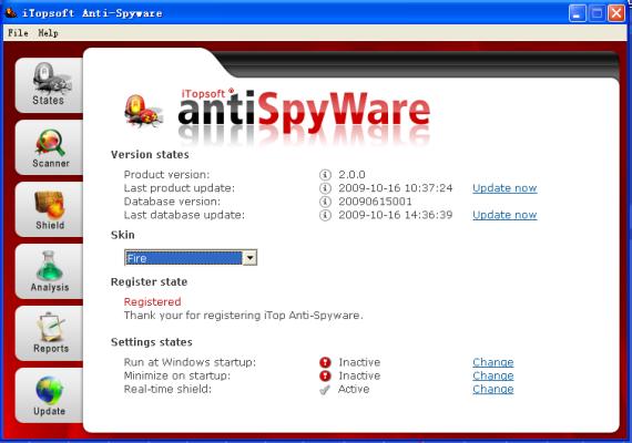iTopsoft Anti-Spyware