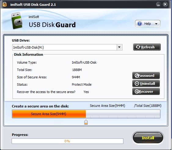 imlSoft USB Disk Guard