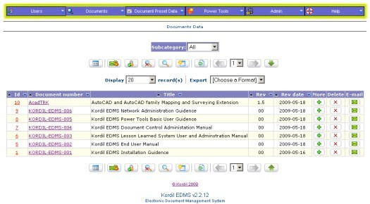 Kordil EDMS Document Management System