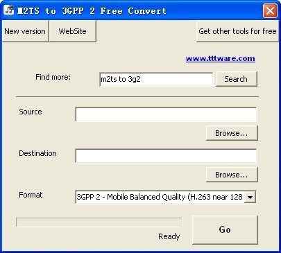 M2TS to 3GPP 2 Free Convert