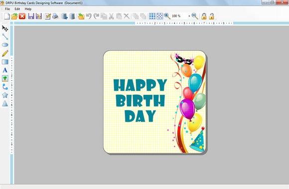 Make and Print Birthday Card