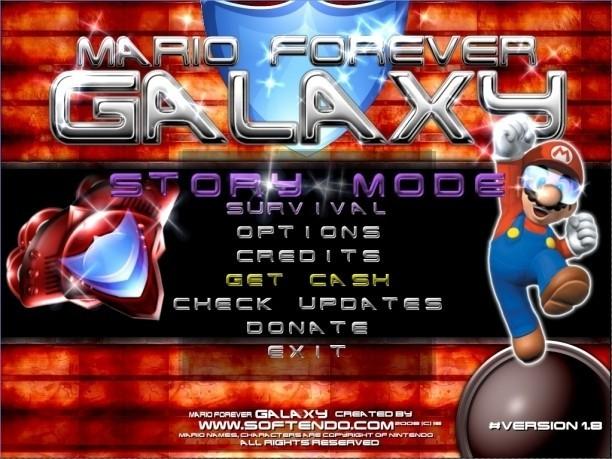 Mario Forever Galaxy Lite