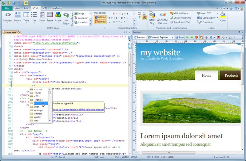mirabyte Web Architect
